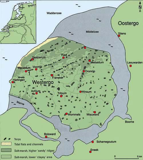 Fries terpengebied met Wijnaldum