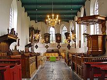 Interieur Mariakerk Buitenpost