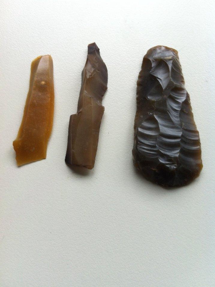 Wiebe van der Vliet, vondsten Lochtenrek